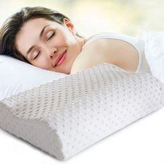 2016 Orthopedic Neck Pillow Fiber Slow Rebound Memory Foam Pillow Cervical Health Care Orthopedic Latex Neck Foam Pillow
