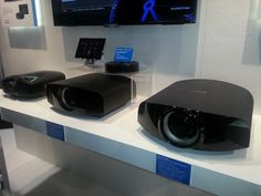 Sony VPL-VW600ES (4K, center), VPL-VW1100ES (4K, on the right)
