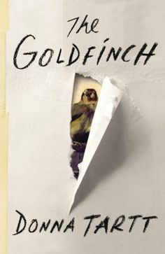 The Goldfinch.  Click on the book cover to request this title at the Bill or Gales Ferry Libraries. 1/14