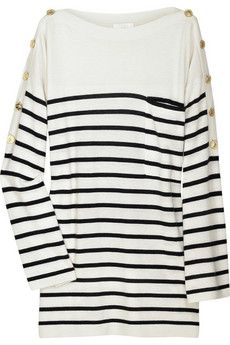 Cashmere striped sweater by Chloé