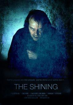 Stanley Kubrick's film of Stephen King's THE SHINING.