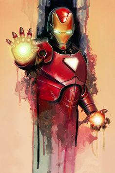 Iron Man #Art #ComicsArt #IronMan #TonyStark #Comics #Superheroes