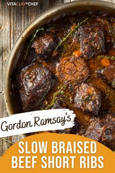 Recipes With Beef Ribs, Beef Short Ribs Pressure Cooker Recipe, Beef Ribs Crockpot Slow Cooker, Braising Ribs Recipe, Cooking Beef Ribs, Short Rib Recipes Crockpot, Crockpot Vegetable Beef Soup, Braised Beef Short Ribs Recipe, Slow Cooked Ribs