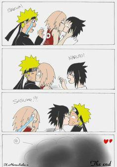 Naruto And Sasuke Funny, Funny Naruto Memes, Naruto Anime, Naruto Comic, Naruto Cute, Haikyuu Anime, Otaku Anime, Manga Anime, Anime Meme