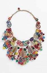 Natasha Couture 'Mardi Gras' Statement Necklace