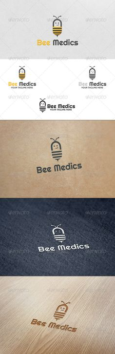 Bee Medics - Logo Template