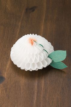 Gift Card/Table Place Card - Honeycomb Paper Craft Size L