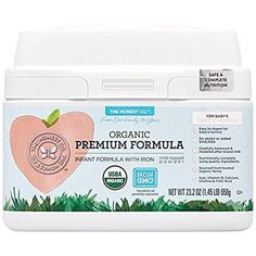 The Honest Co. Organic Non-GMO Premium Infant Formula with Iron, 23.2 Ounce         *** Check out this great product. (This is an affiliate link) #AmazonLaunchpad