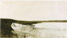 Andrew Wyeth - Flood Tide