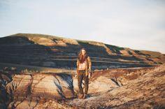 #Alberta #badlands #albertawildlifeseries // creamandcoal.com