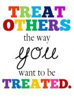 Treat others the way you want to be treated. #free #classroom #printables