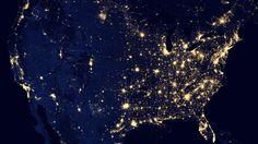 #Earth at #Night http://goo.gl/fb/wkKj4j  #rendom #image