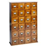 Found it at Wayfair - Library Style Multimedia Storage Cabinet