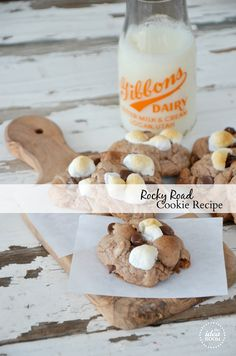 Rocky Road Cookies Recipe | theidearoom.net