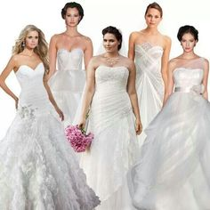 Best dress for your shape #phillyweddings