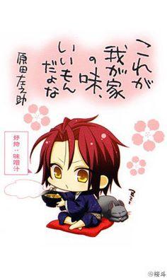 Your Typical Hakuoki Fangirl, hakuoukiandmocha11: Official art of the chibi...
