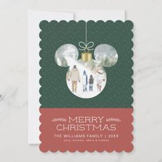 Mickey Mouse Christmas Ornament with Photo Invitation: Mickey Mouse Christmas Ornament with Photo Invitation $2.91 by MickeyAndFriends Mickey Mouse Christmas Ornament, Merry Christmas, Christmas Ornaments, Christmas Invitations, Photo Invitations, Christmas Photo Cards, Place Card Holders, Holiday, Merry Little Christmas