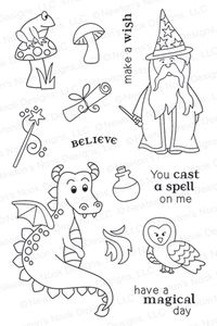 Newton's Nook Designs MAGICAL DREAMS Clear Stamp Set 20130902 zoom image