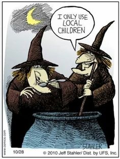 Get a laugh at the cracked minds of some funny cartoonists this Halloween season. From Denny: This midterm election season in . Spooky Halloween, Holidays Halloween, Vintage Halloween, Halloween Crafts, Halloween Decorations, Halloween Humor, Halloween Cartoons, Halloween Poster, Healthy Halloween
