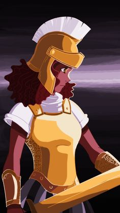 Hazel Levesque ready for battle