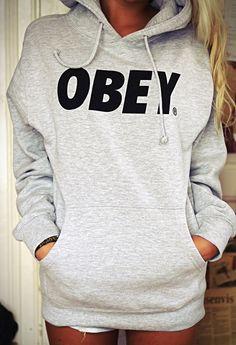 13743cb144e38 grey hoodie Comfy Hoodies, Guys Sweatshirts, Stiles, Obey Sweatshirt, T  Shirt,