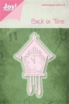 Joy crafts cutting & #embossing die #stencil back in time cuckoo clock #6002/0220,  View more on the LINK: http://www.zeppy.io/product/gb/2/171804851716/