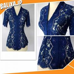 58 New Ideas Dress Brokat Biru Dongker Kebaya Bali Modern, Kebaya Kutu Baru Modern, Model Kebaya Brokat Modern, Kebaya Modern Hijab, Dress Brokat Modern, Kebaya Lace, Batik Kebaya, Batik Dress, Dress Brokat Muslim