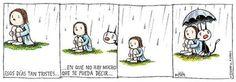 Liniers e o momento quando não há muito o que se dizer.