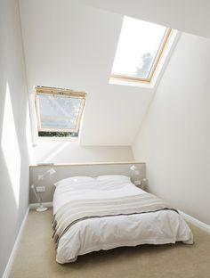 #skylights in the bedroom from alma-nac