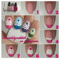 How To: Cupcake Nails