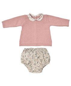 Miskiwawa ★ Set Pullover Unterhose rosa