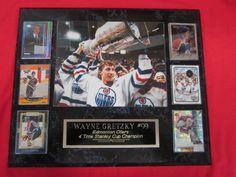 Oilers Wayne Gretzky Plaque