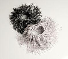 Atara de Lange feathery bracelet