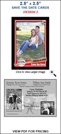 Baseball Cards For Baseball Weddings HttpShowcasetradingcards
