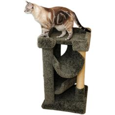 Cat Furniture Carpet Tree Green Small Cat Tower Rope Scratching Post ** Find out more about the great product at the image link. (This is an affiliate link and I receive a commission for the sales) #Cats