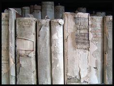antique vellum books