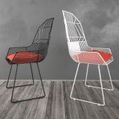 Стальные стулья