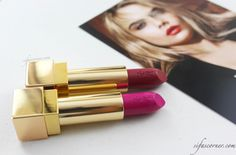 REVIEW: Yves Saint Laurent Rouge Pur Couture Lipstick #YSLRougePurCouture