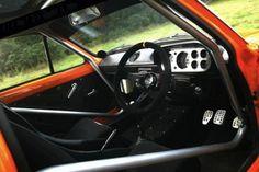 1972 Ford Escort Mexico Mk1 Orange For Sale Rear Interior