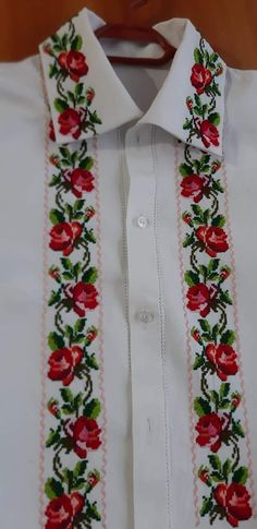Floral Tie, Cross Stitch, Costumes, Embroidered Wedding Dresses, Embroidered Shirts, Invitations, Hipster Stuff, Floral Lace, Punto Croce