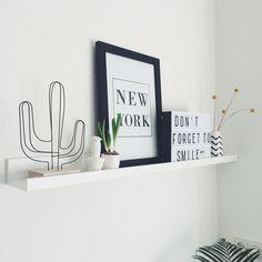 #kwantuminhuis DRAADCACTUS en wanddecoratie NEW YORK > https://www.kwantum.nl/wonen/woondecoratie @huisjevanjoliene