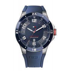 Reloj pulsera azul Tommy Hilfiger. Envío a cualquier parte de España. Omega Watch, Smart Watch, Ebay, Watches, Accessories, Rvs, Model, Products, Timberland Watches