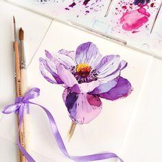 Картинки по запросу анемоны открытки