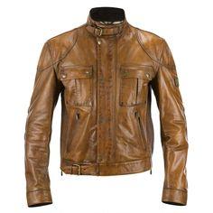 Belstaff- Leather Gangster Blousan Man  I want one of these sooooo bad!