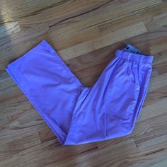 Barco ICU lavender scrub pants Sz Small Worn once and in perfect condition. Size small lavender scrub pants (last picture show best color). They are barco brand and ICU style with elastic band at the waist. Inseam is 30 1/2 inches. Barco Pants