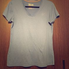 Nike vneck No flaws. Worn a handful of times. Open to offers. No trades. Nike Tops Tees - Short Sleeve