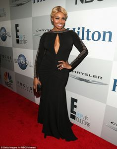 Star-studded:Other guests included Hollywood actress Katherine Heigl and TV star NeNe Lea...
