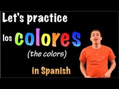 Learn Spanish - The colors / Los Colores (part 2)