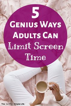 5 Strategies for Adults to Reduce Screen Time - Uncluttered Simplicity What Would You Rather, Activities For Adults, Free Activities, Social Media Detox, Detox Challenge, Check Email, Digital Detox, Meaningful Life, Self Development