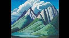 From Oeno Gallery, Lawren Stewart Harris, Mountain Sketch VII Oil on Panel, 11 × 14 in Group Of Seven Artists, Group Of Seven Paintings, Emily Carr, Tom Thomson, Canadian Painters, Canadian Artists, Landscape Art, Landscape Paintings, Mountain Sketch